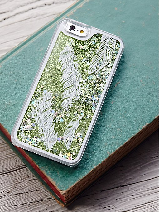Cosmic Storm Liquid Glitter iPhone Case