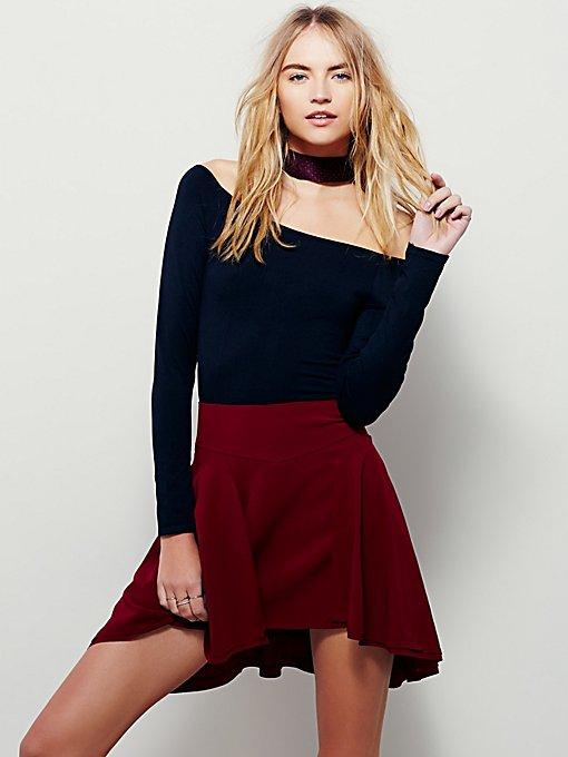 Empire Mini Skirt