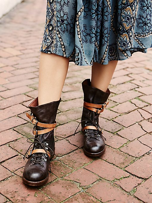 Into the Abyss Lace-Up Boot