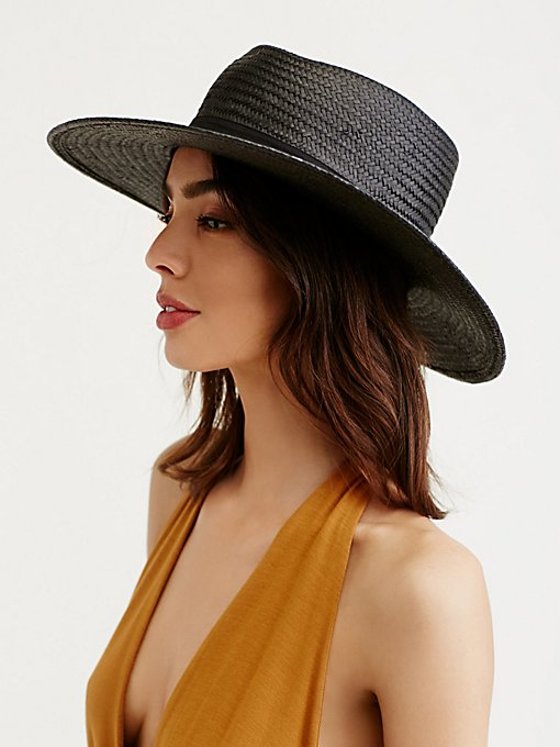 Sunny Days Straw Boater