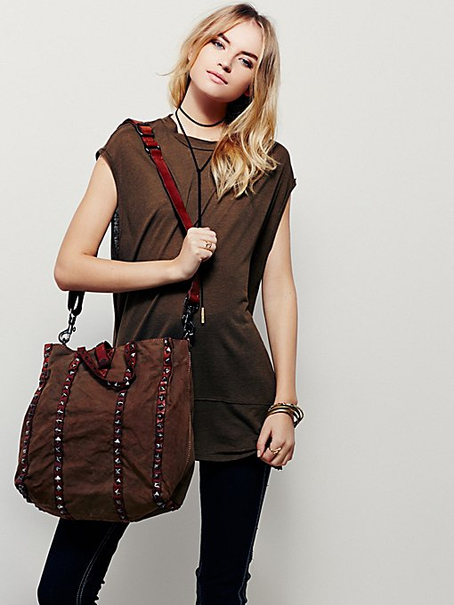 Studded Connections Tote