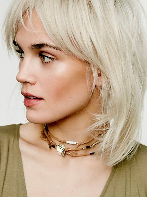 Salty Shores Wrap Choker