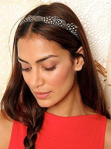 Turtle Dove Feather Headband