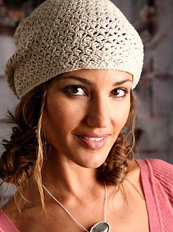 Starstitch Crochet Beret