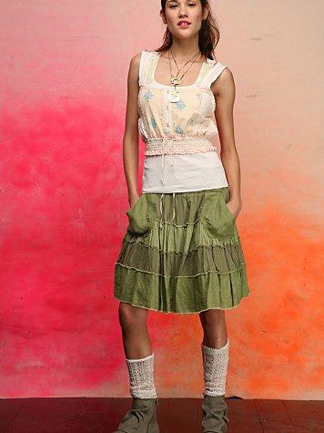 Spanish Tiers Skirt