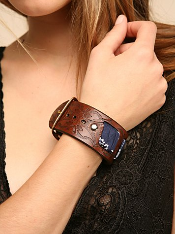 River Blues Cuff