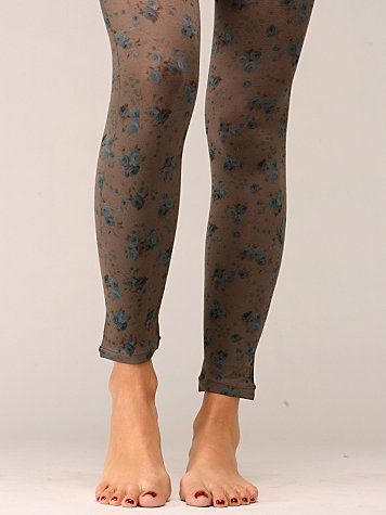 Courtneyrose Footless Tights
